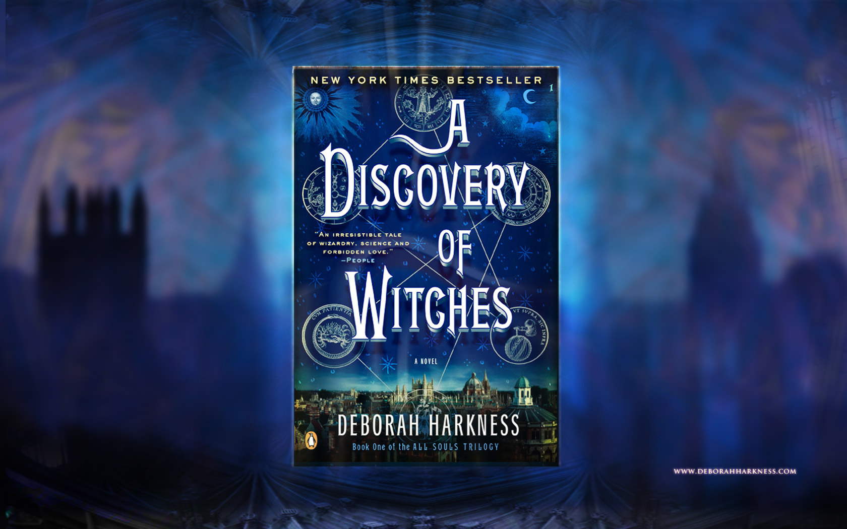 A Discovery of Witches by Deborah Harkness (Desktop Wallpaper)