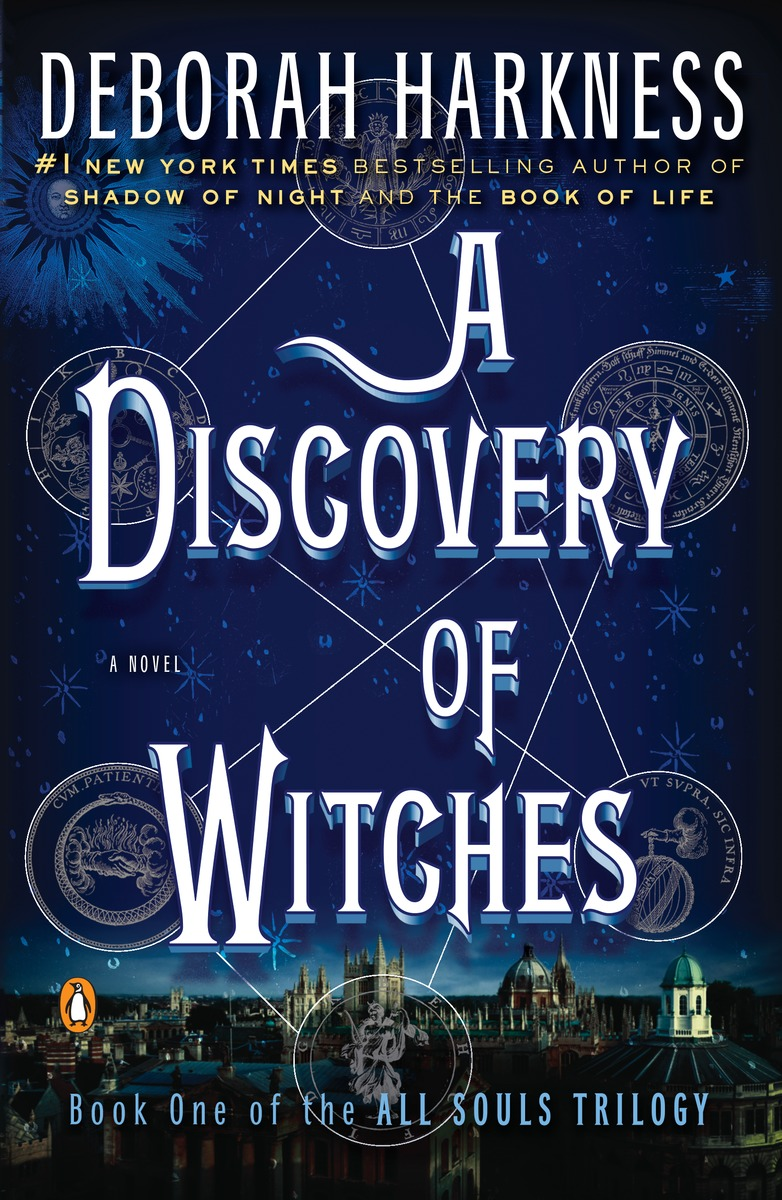 Discovery of Witches by Deborah Harkness (high-res)