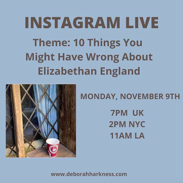 My next Instagram (and Facebook) Live: