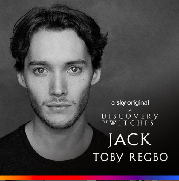 Here's Jack!  Welcome, Toby Regbo