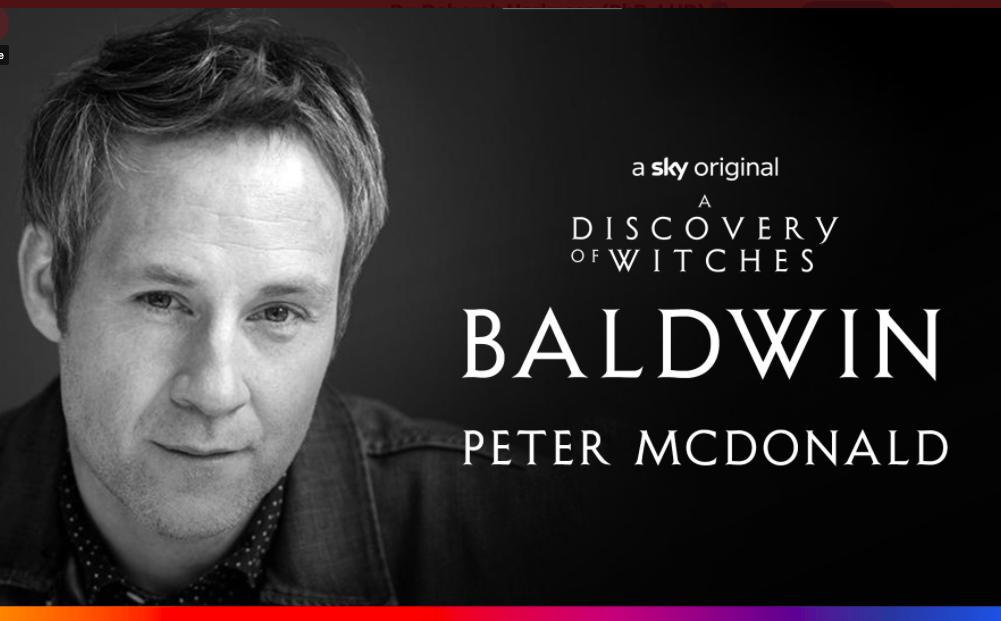 Welcome Peter McDonald